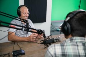 recording podcast studio alignspace — align.Space