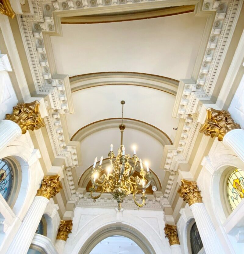 arched ceilings at align.space
