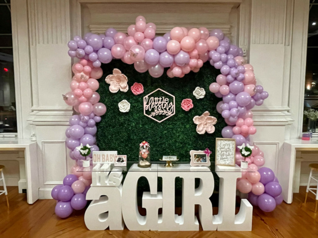 it's a girl - baby shower in west chester pa