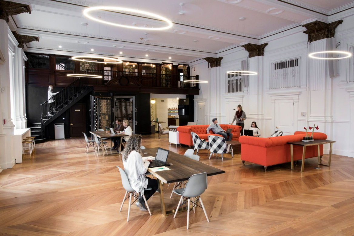 a place to get work done, coworking space in downtown West Chester